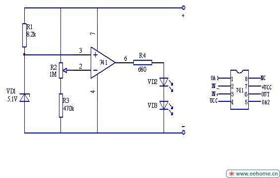 请教一个关于电压比较器的问题