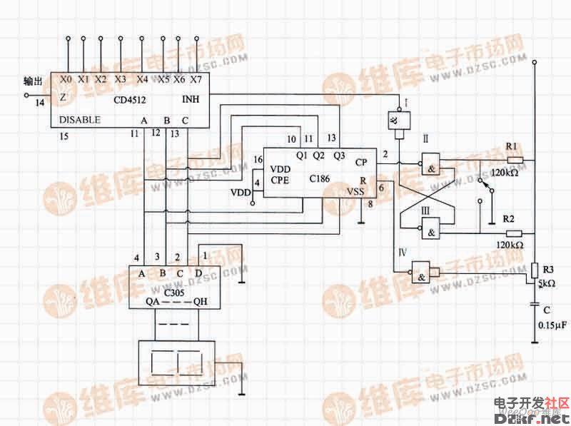 单片机硬件电路图
