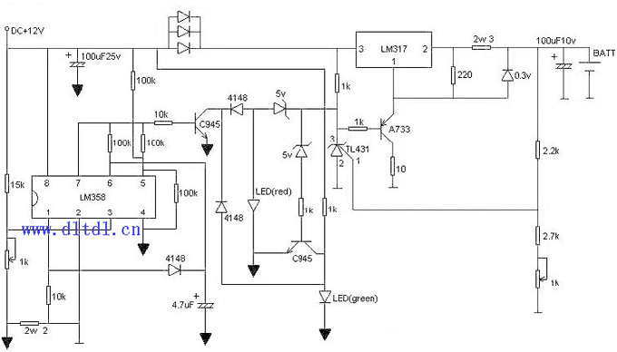 锂电池充电器制作_原理图论坛