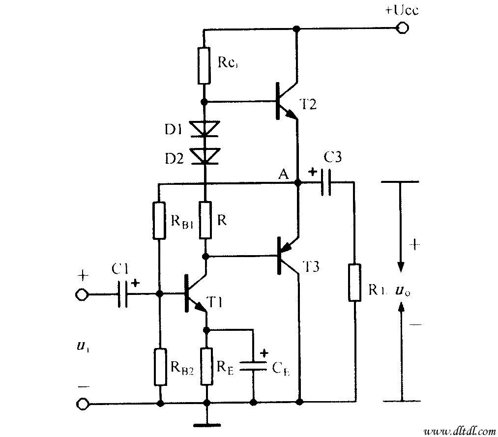 单电源互补对称电路_原理图论坛