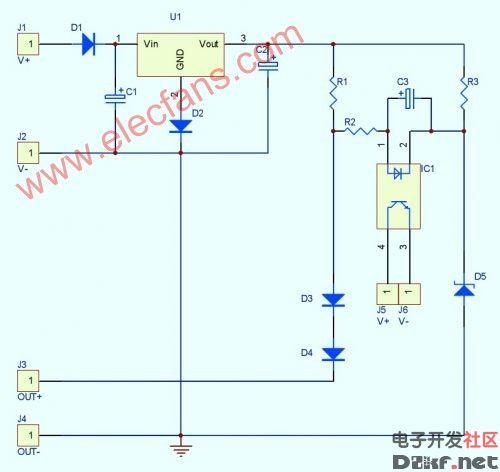 高压脉冲电路中短路和过载检测保护