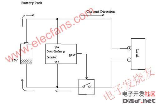 锂电池充电保护ic原理