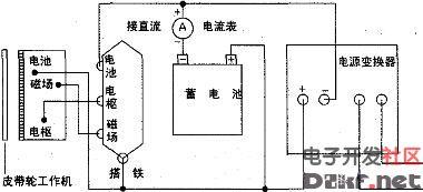 用拖拉机或柴油机给蓄电池充电的电路 原理图论坛 单片机电路论坛 图片
