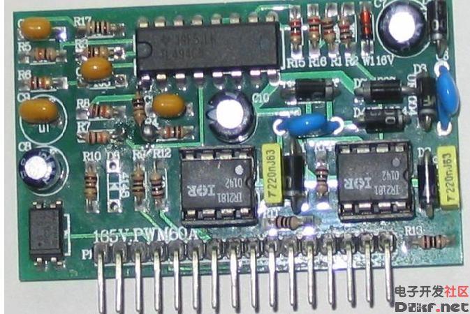 irfp460mos功率管开关电源全桥驱动模块电路