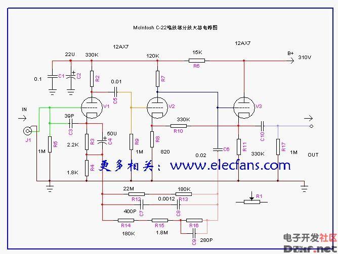 级放大器电路图