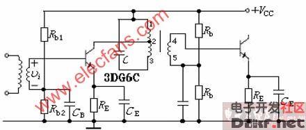单调谐回路中频放大器 原理图论坛 单片机电路论坛 MCU资讯论坛