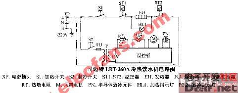 热饮水机电路图