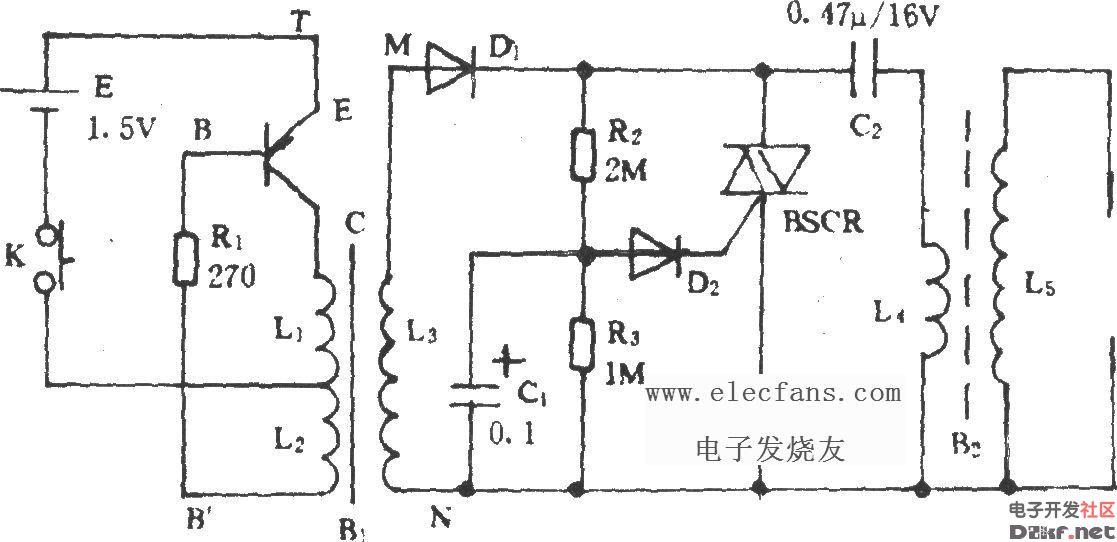 前锋燃气热水器电路图