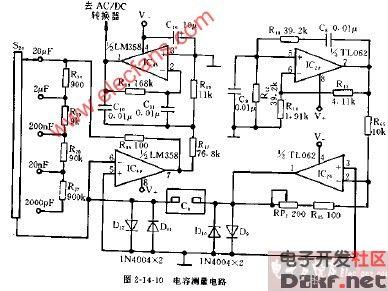 cm3920型电容测量电路图