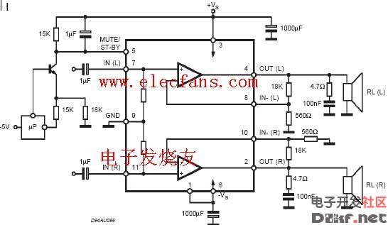 tda7265应用电路图