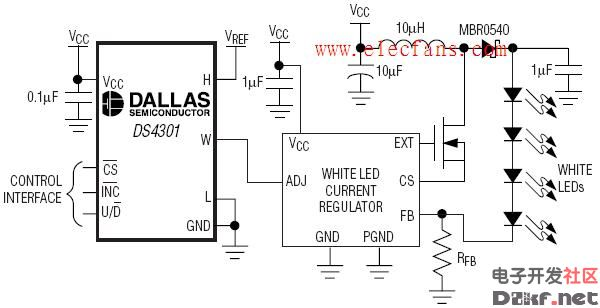 ds4301应用电路_原理图论坛