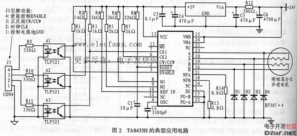 ta8435h应用电路
