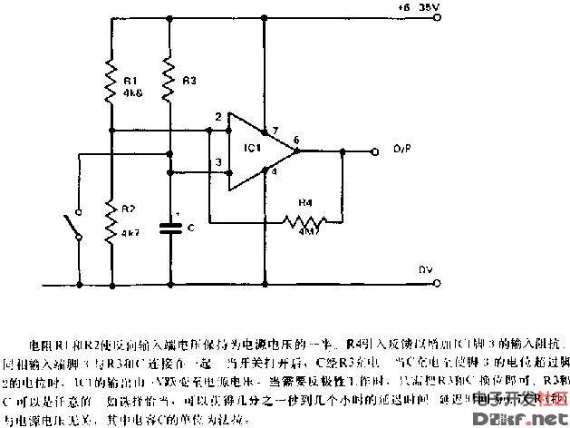 741定时器电路图