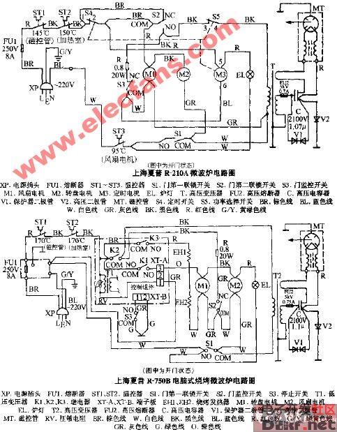a微波炉电路图   本文包含原理图,pcb,源代码,封装库,中英文pdf等资源