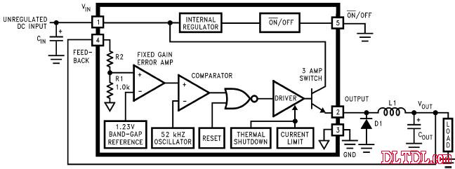 lm2576应用电路_原理图论坛