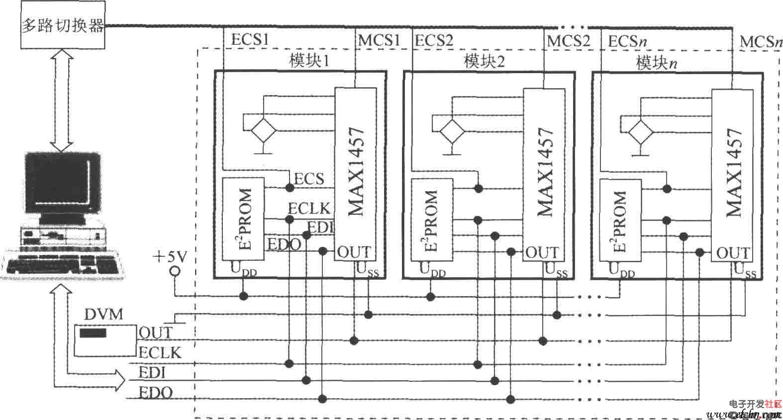 压力测试系统 高精度集成压力信号调理器max1 原理图论坛 单