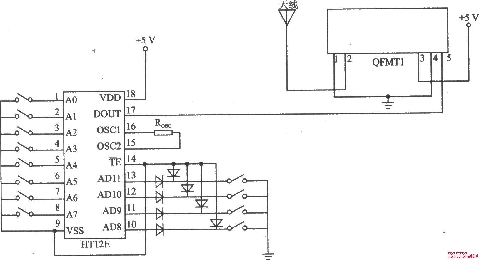 qfmtl模块应用电路