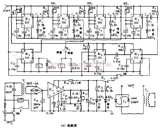 点焊机时序控制器电路