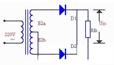 整流电路类型及原理